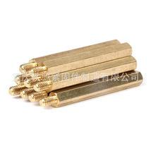 厂家批发 单头六角铜柱 铜螺柱 主板铜柱螺丝 阴阳隔离柱 接线柱