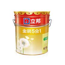 立邦漆 金装净味五合一乳胶漆 内墙面漆水漆油漆涂料 刷墙漆18L