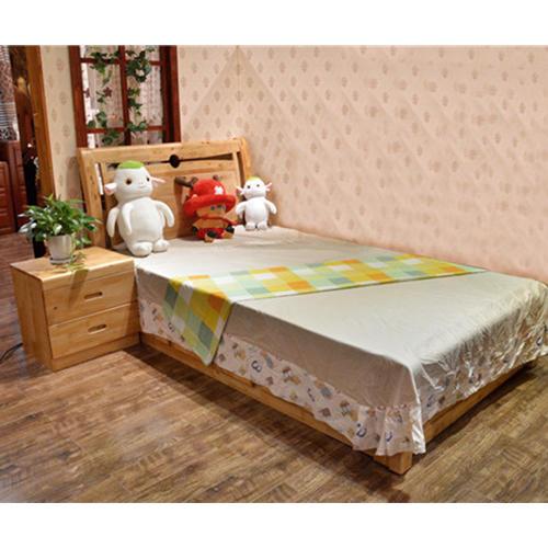 耀森限量版定制实木古典儿童床+床头柜